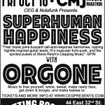 Review: ORGONE at THE CUTTING ROOM