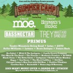 Summer Camp Music Festival: Initial Lineup 2014