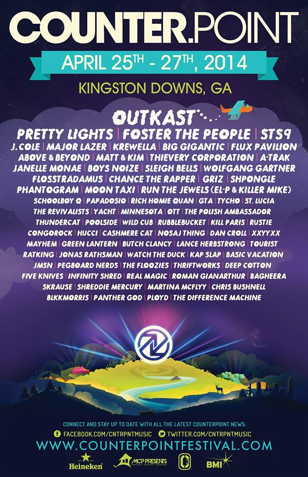 Counterpoint 2014 Lineup