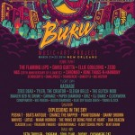 Buku Music + Art Project in NOLA Adds Nas (performing Illmatic in its Entirety), Sleigh Bells, GRiZ & More