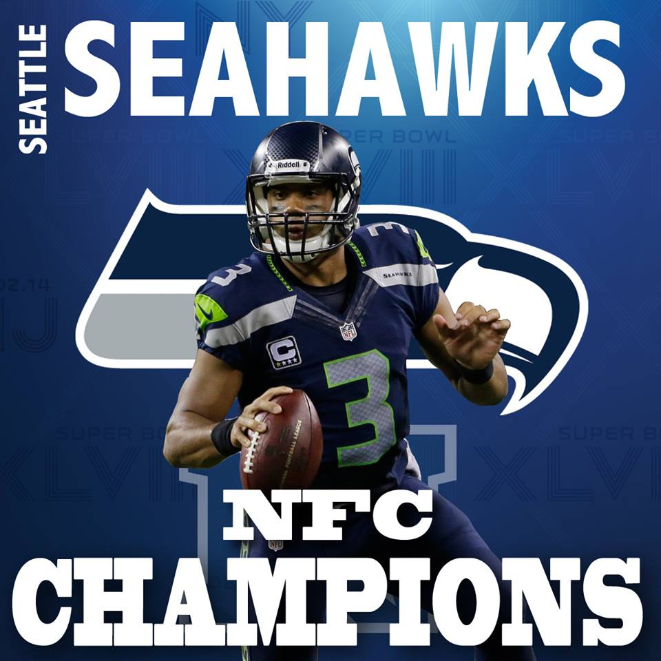 Responses to nfc champions seattle seahawks