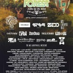 Electric Forest Initial Lineup Announcement 2014
