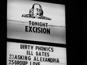 Electric Factory Excision marque