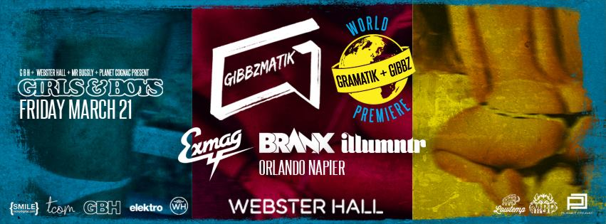 Gibbzmatik Webster Hall