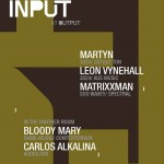 Win Tickets to INPUT's Martyn, Leon Vynehall, Matrixxman at Output 4/3