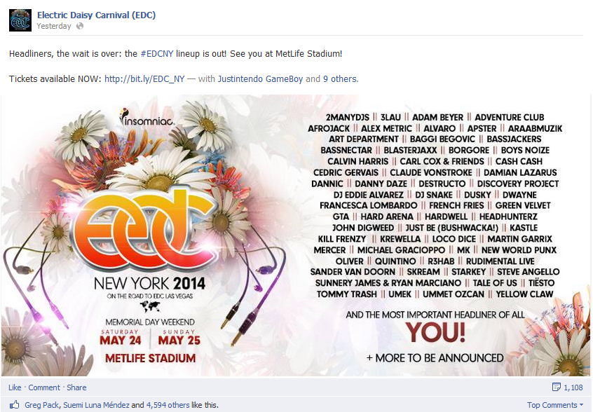 edc nyc lineup announced