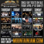 Mountain Jam Daily Lineup for 2014 Released!