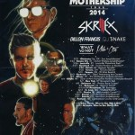 Skrillex Gets Ready To Launch The Mothership Tour 2014.