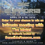 Enter for a chance for an Intimate Meet & Greet with The Motet at Euphoria Music and Camping Festival