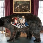 Living in Taxidermy: A French Artist's Stay Inside a Bear's Stomach