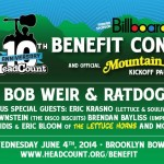 HeadCount 10th Anniversary Benefit Concert and Mountain Jam Kick-Off Party