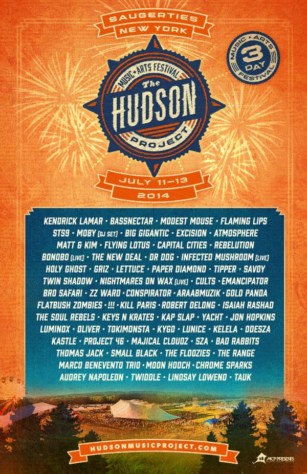 hudson project lineup