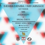 Mr. Carmack & DJEMBA DJEMBA Join Forces for The Memory Loss Tour.