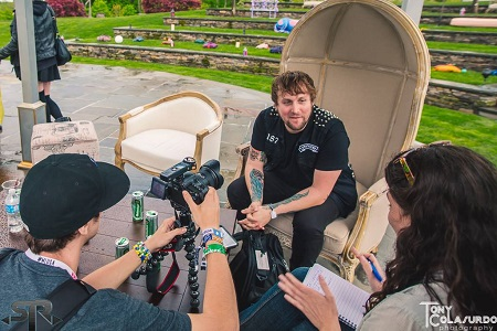Figure Interview at Mysteryland