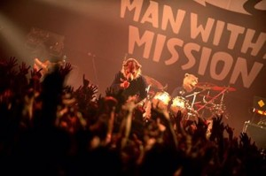 Man With a Mission plays live. Source: MWAM