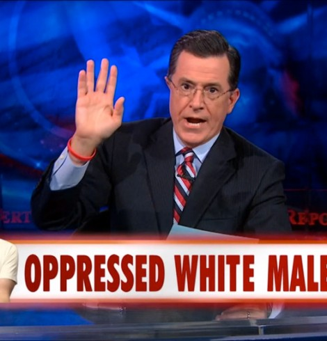 oppressed white male
