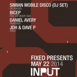 Simian Mobile Disco, Bicep, Justin Strauss, L-Vis 1990, & More Bring the Perfect Party to INPUT!