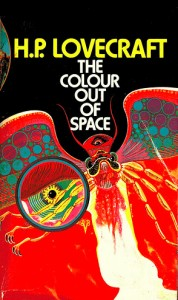 "Cover for ""The Colour out of Space,"" by H. P. Lovecraft"