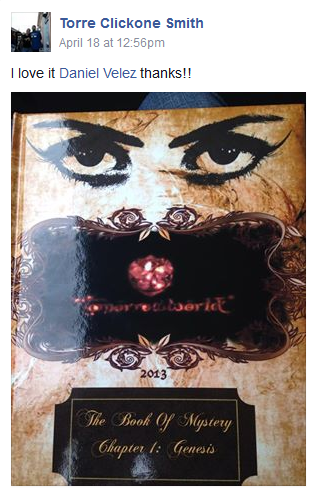 The Yearbook Cover Shared by a Fan in the Yearbook Forum