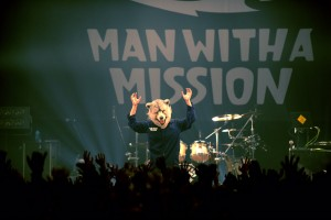 MAN WITH A MISSION is not going to eat you. Hopefully.