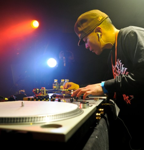 DMC World Champion, DJ QBert