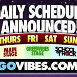 Gathering of The Vibes Announces Daily Schedule & Lineup Additions
