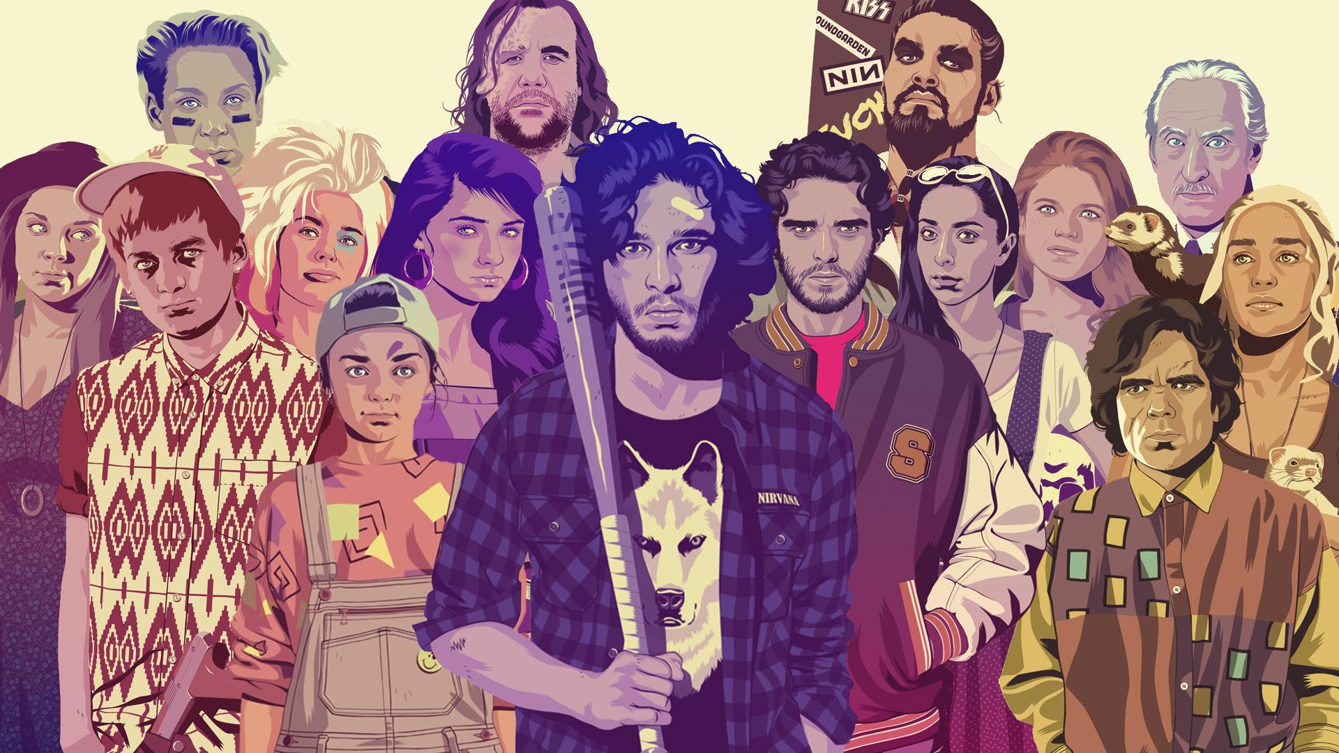 Game Of Thrones Gets An 80 S Infusion