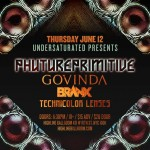 Check Out the Launch Of Undersaturated Presents, Featuring Phutureprimitive, Govinda, Branx, & Technicolor Lenses!