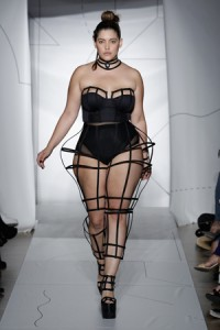 Denise Bidot opens for Chromat Photo: JP Yim / Getty