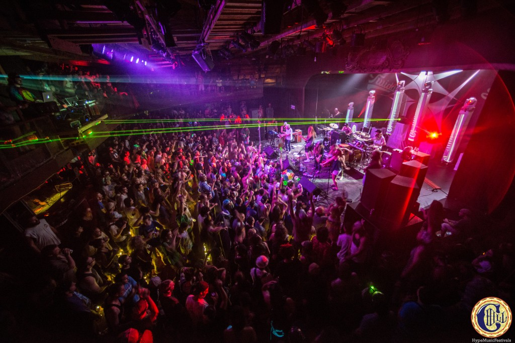 Twiddle Dead Set at Club Chill