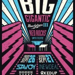 Big Gigantic heads to Rock Red Rocks for 2 Nights During 'Rowdytown III' 2014 Tour
