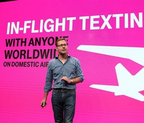 T-Mobile In FLight Texting