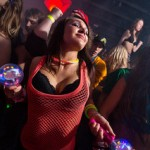 EDM rave girl