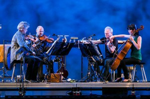 Kronos Quartet at Lincoln Center (2013). Photo: Sachyn Mital