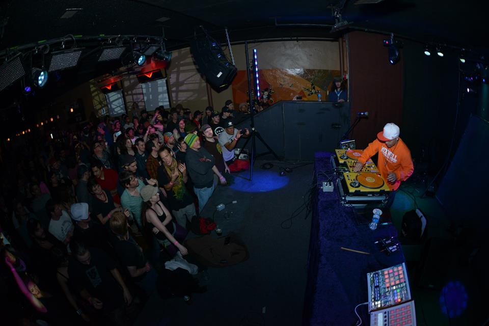 DJ QBert. Photo: Chad Bergin.