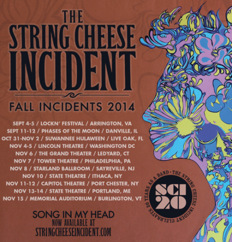 String Cheese tour