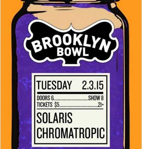 SOLARiS at the Brooklyn Bowl