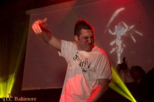 """Soohan at his """"Made in Baltimore"""" album release party at the 8x10. Photo by TLC Baltimore"""