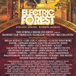 The 2015 Electric Forest Lineup Announcement is finally here!
