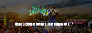 All Good Lineup Leaked 2015