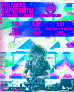 Bassnectar Returns to Red Rocks May 29th-31st