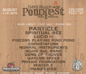 Backwoods Pondfest Announces First Round of Artists