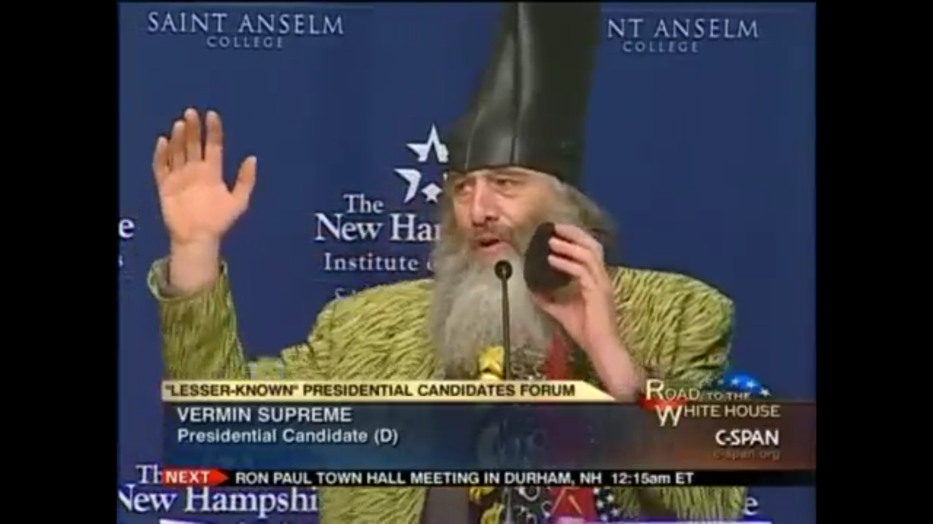 c3e479b5682 This Candidate Gets Us Excited For 2016 (Chicken Dance Video)  CSPAN