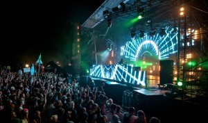 Bassnectar performing at Counterpoint 2012 on the Mainstage.