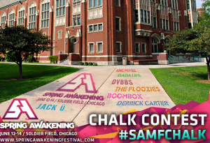 Win 4 Tickets to Spring Awakening with Sidewalk Chalk