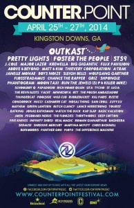 Counterpoint's 2014 lineup.