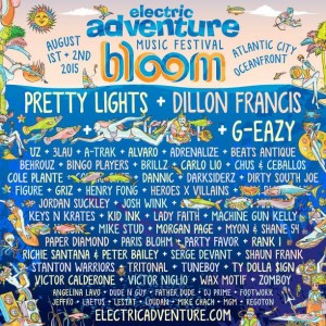 Electric Adventure Returns With Huge Lineup In 2015!