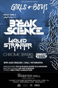 Break Science And Liquid Stranger Get Ready To Rip Up Webster Hall 4/3