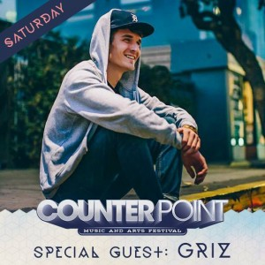 GRiZ has just recently been added to Counterpoint Music Festival lineup.