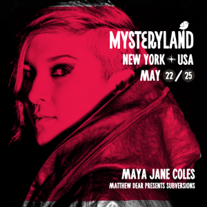 Mysteryland Showcase Feat: Maya Jane Coles + Friends presented by THUMP & Verboten